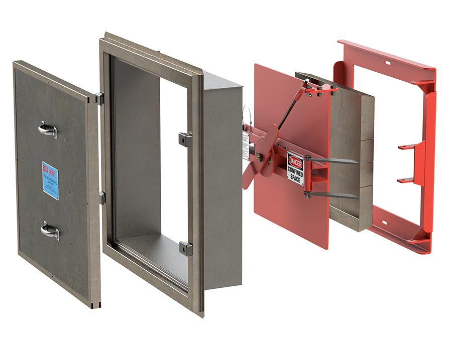 IMTEC Duct Door (Double)
