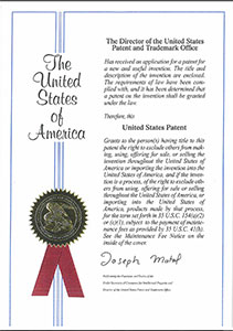 Vogt Power OTSG Patent