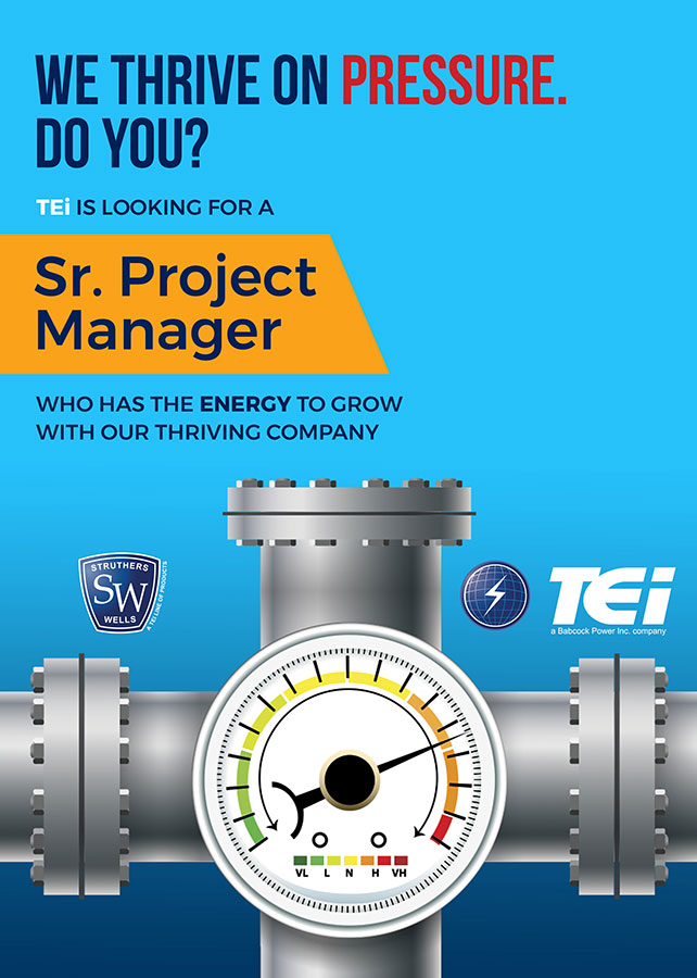 TEi- Sr. Project Manager job posting